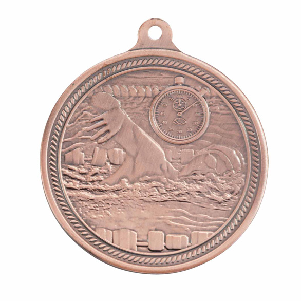Bronze Endurance Swimming Medal (size: 50mm) - MM16050B