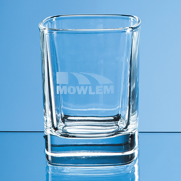 Strauss Square Tot Glass - W28