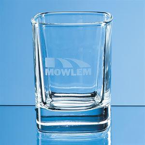 Strauss Square Tot Glass - W28
