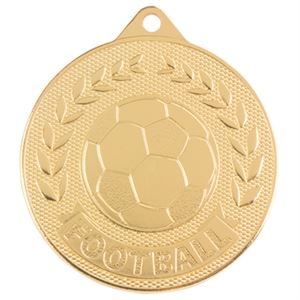Gold Discovery Football Medal (size: 50mm) - MM17131G