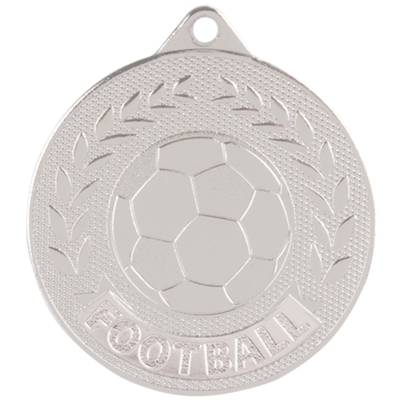 Silver Discovery Football Medal (size: 50mm) - MM17131S