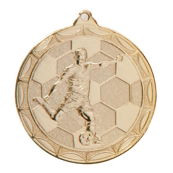 Gold Impulse Football Medal (size: 50mm) - MM2014G