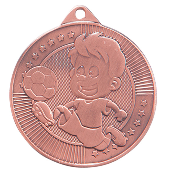 Bronze Little Champion Football Medal (size: 45mm) - MM17125B