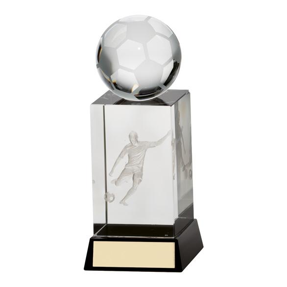Sterling Football Crystal Award - CR16219