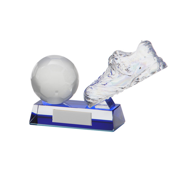 Legacy Football Boot Crystal Award - CR9030