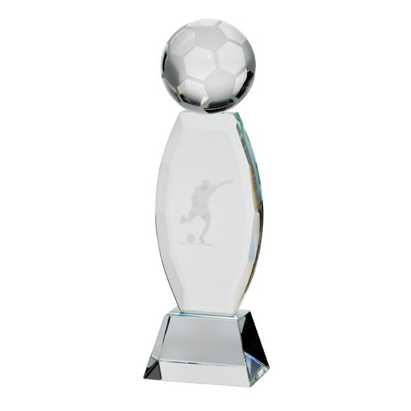 Infinity Football Crystal Award - CR17110