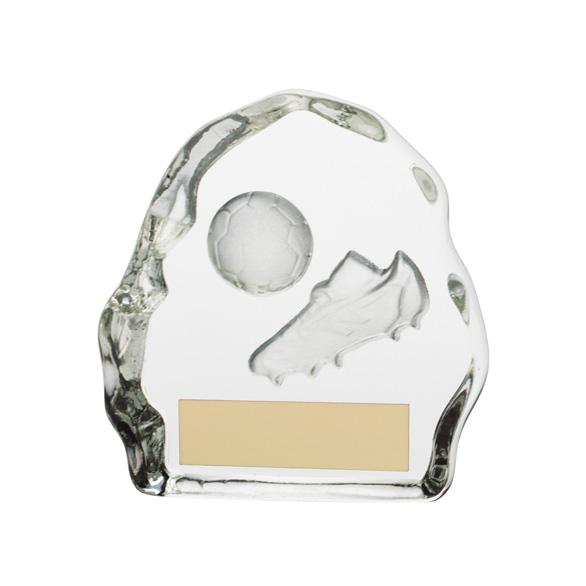 Sub Zero Football Glass Award - CR3281