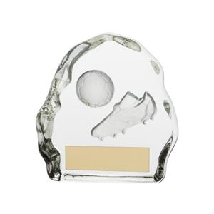 Sub Zero Football Glass Award - CR3281