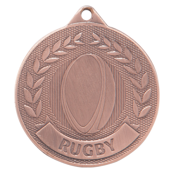 Bronze Discovery Rugby Medal (size: 50mm) - MM17130B
