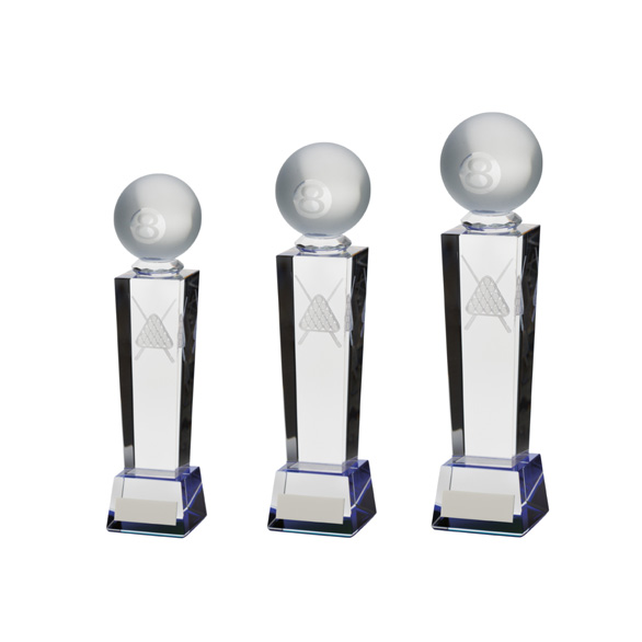 Legend Tower Crystal Pool Award 3 sizes - CR9036