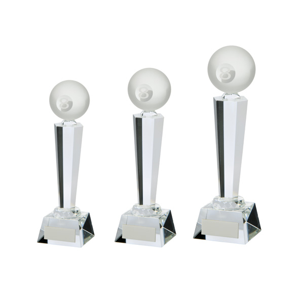 Interceptor Crystal Pool Award 3 sizes - CR17118