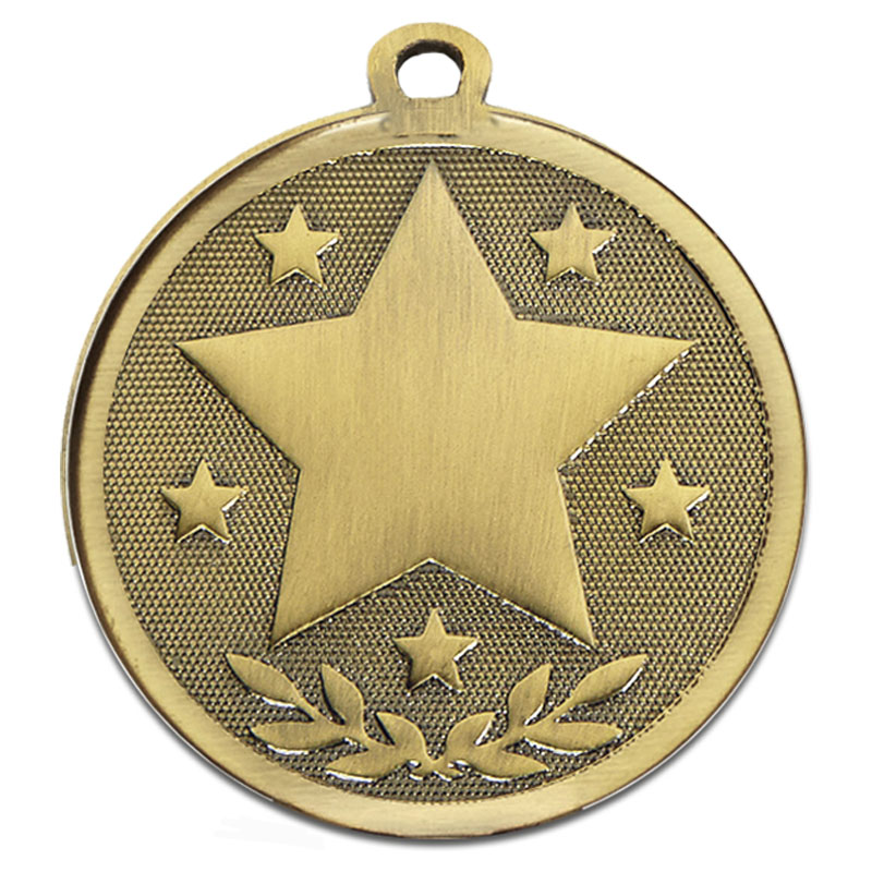 Bronze Galaxy Stars Medal (size: 45mm) - AM1026.12