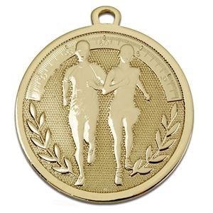 Gold Galaxy Running Medal (size: 45mm) - AM1027.01