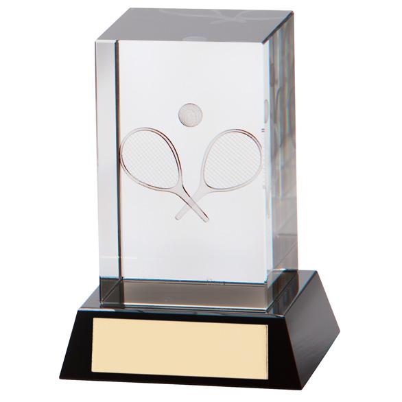 Conquest 3D Tennis Crystal Award - CR7192