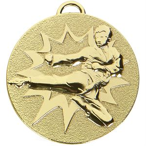 Gold Target Martial Arts Medal (size: 50mm) - AM1048.01