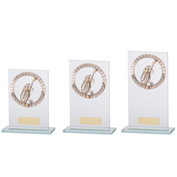 Jade Waterford Golf Glass Award 3 sizes - CR17511