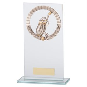 Jade Waterford Golf Glass Award - CR17511