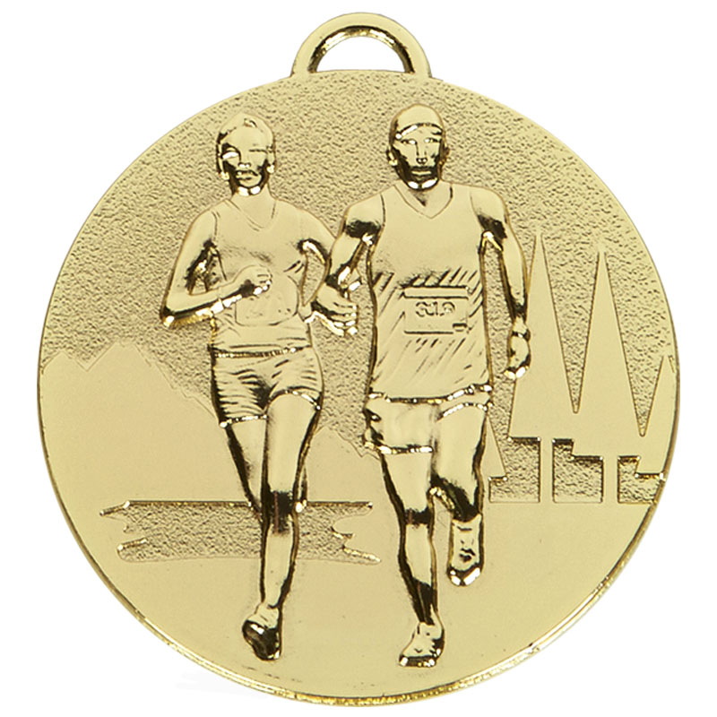 Gold Target Cross Country Medal (size: 50mm) - AM1046.01