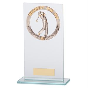 Jade Waterford Golf Nearest The Pin Glass Award - CR17509