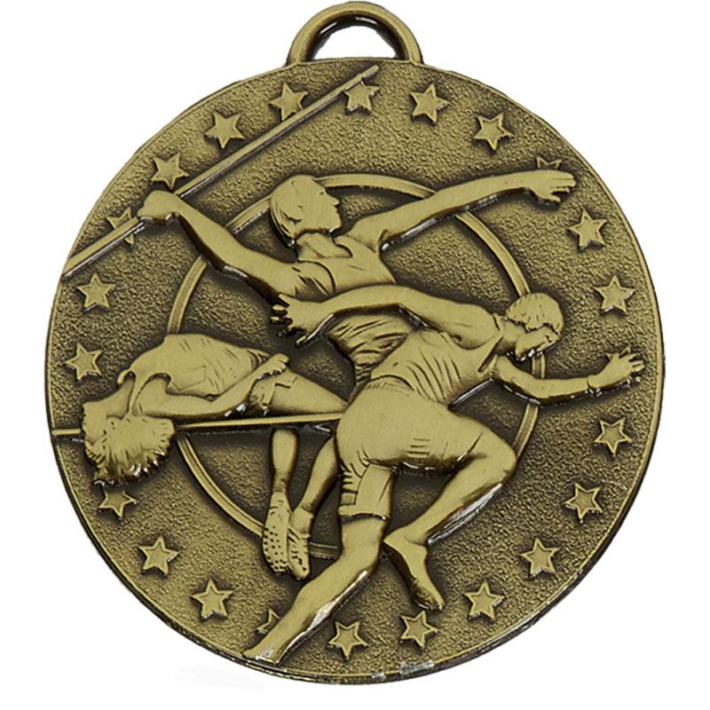 Bronze Target Track & Field Medal (size: 50mm) - AM1052.12