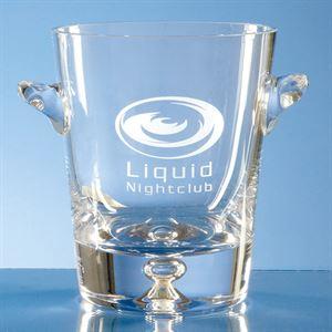Handmade Bubble Base Ice Bucket 0.8ltr - L403