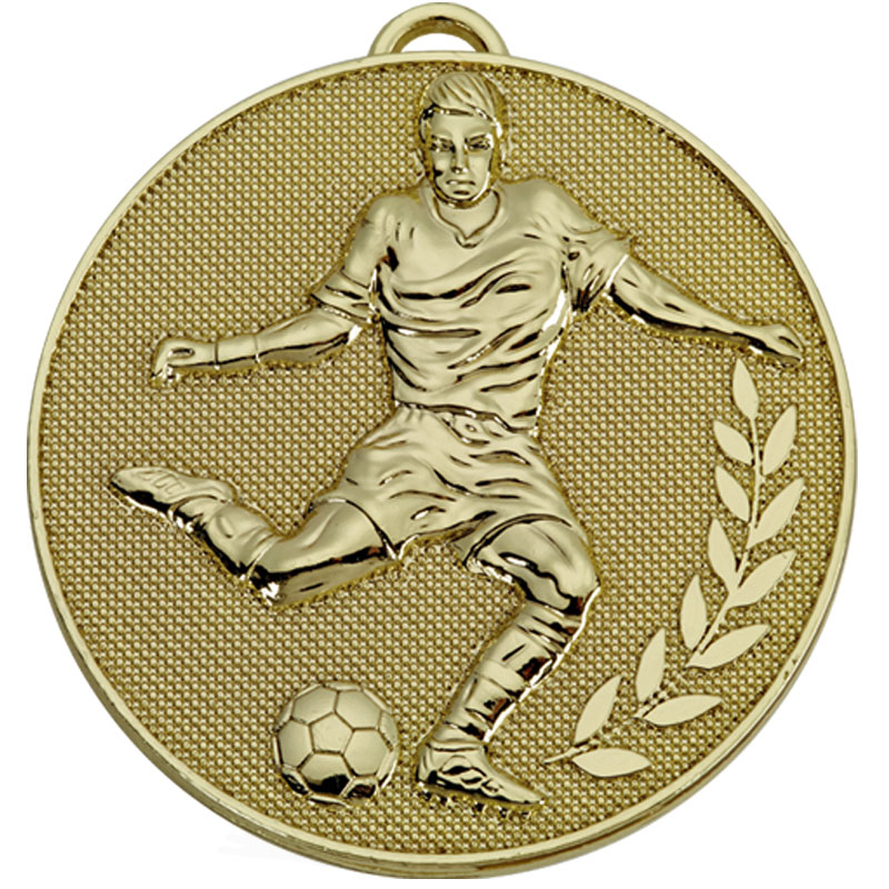 Gold Champion Football Medal (size: 60mm) - AM1079.01