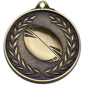 Gold Target Rugby Medal (size: 50mm) - AM1503.12