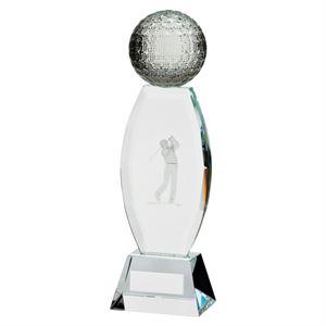 Infinity Golf Optical Crystal Award - CR17109