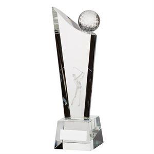 Capture Golf Optical Crystal Award - CR3174
