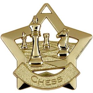 Gold Mini Star Chess (size: 60mm) - AM714G