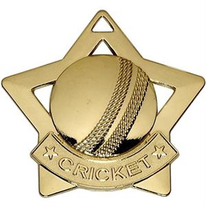 Gold Mini Star Cricket (size: 60mm) - AM725G