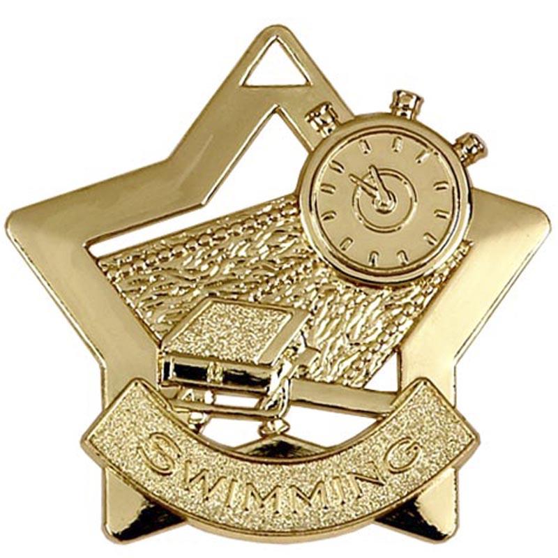 Gold Mini Star Swimming (size: 60mm) - AM718G