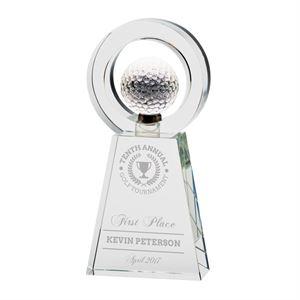 Navigator Golf Crystal Award - CR17111