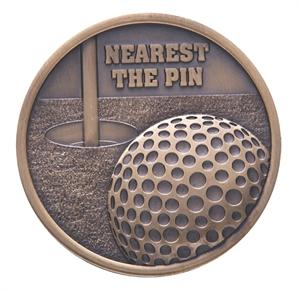 Link Nearest the Pin Golf Medal