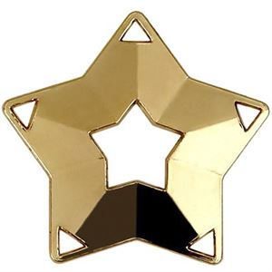 Gold Mini Star Medal (size: 60mm) - AM703G