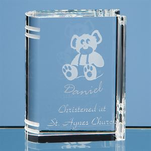 Optical Crystal Miniature Book - R51