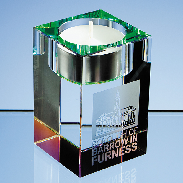 Optical Crystal Tealight Holder - R76