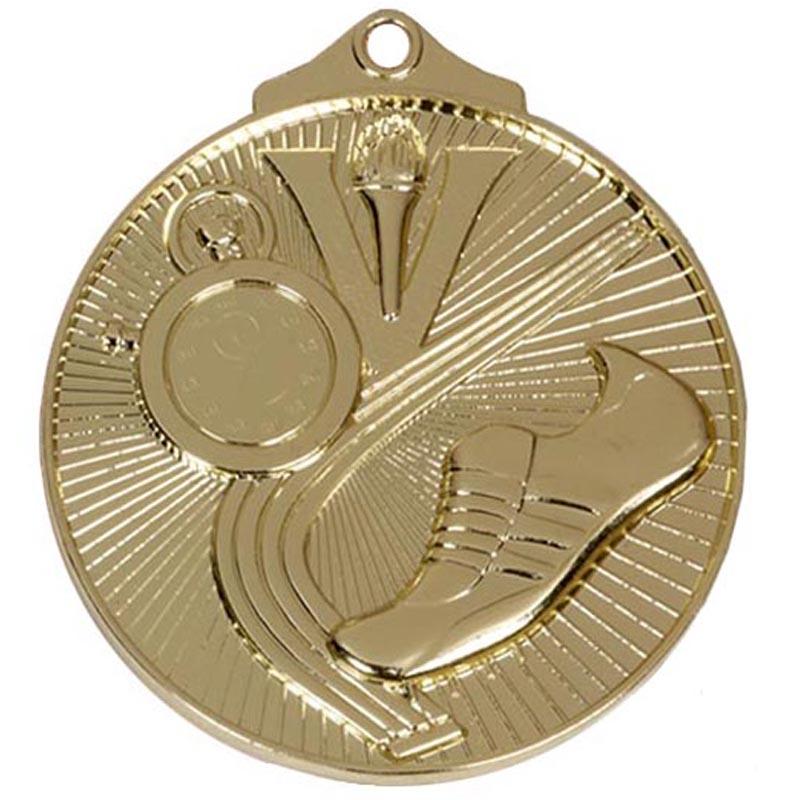 Gold Horizon Athletics Track Medal (size: 52mm) - AM201G