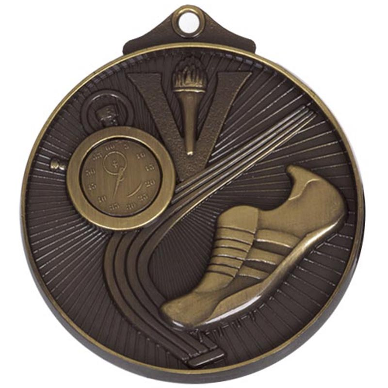 Bronze Horizon Athletics Track Medal (size: 52mm) - AM201B