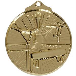 Gold Horizon Gymnastics Medal (size: 52mm) - AM210G
