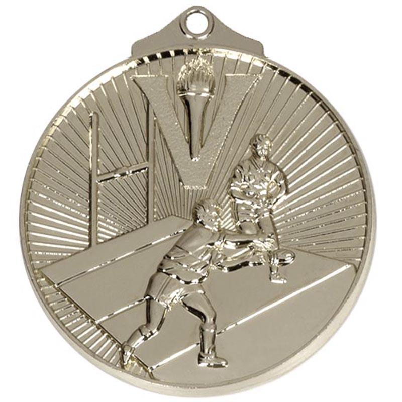 Silver Horizon Gymnastics Medal (size: 52mm) - AM210S