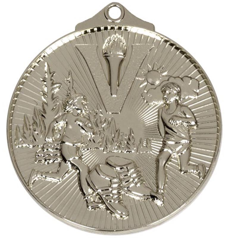 Silver Horizon Cross Country Medal (size: 52mm) - AM215S