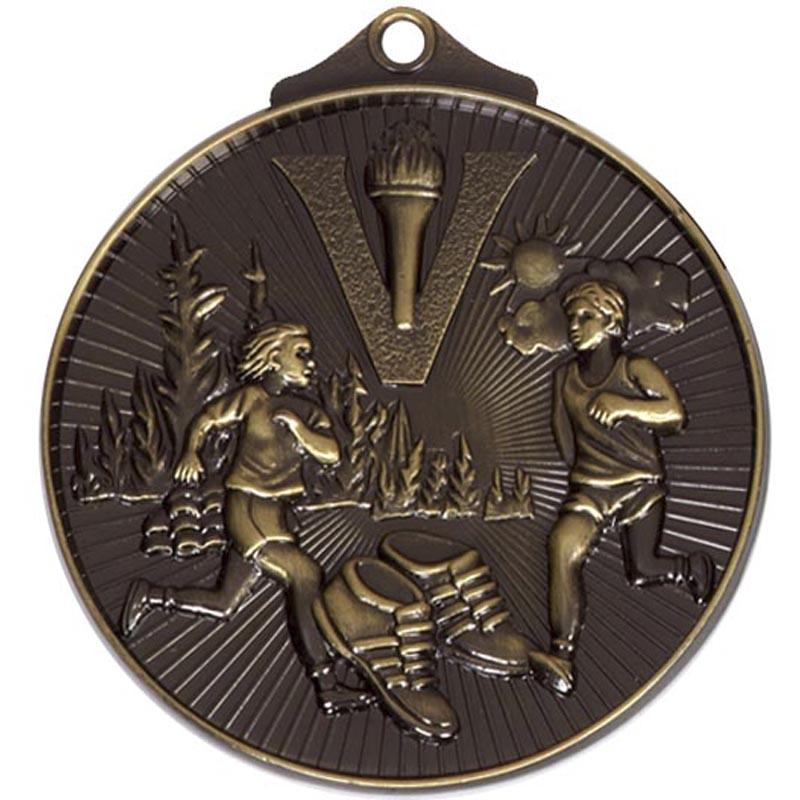 Bronze Horizon Cross Country Medal (size: 52mm) - AM215B