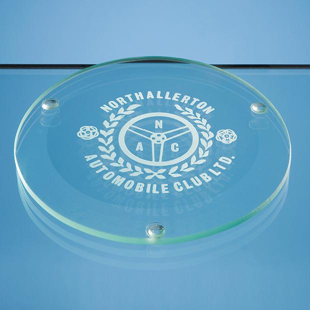 Jade Glass Round Coaster - GS18