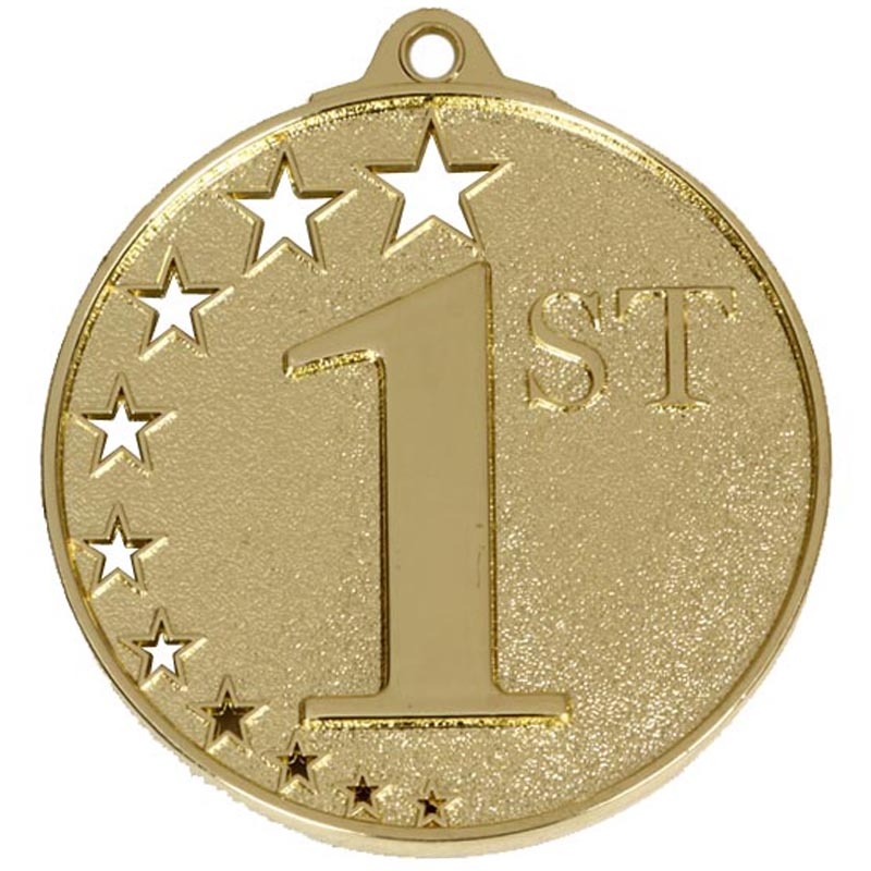 Gold San Francisco 1st Place Medal (size: 52mm) - AM500G