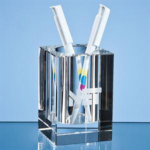 Optical Crystal Pen Holder
