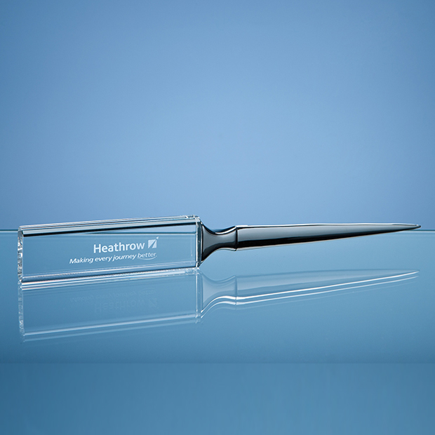 Optical Crystal Letter Opener - SY3091