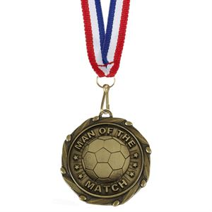 Combo Man of the Match Medal & Ribbon