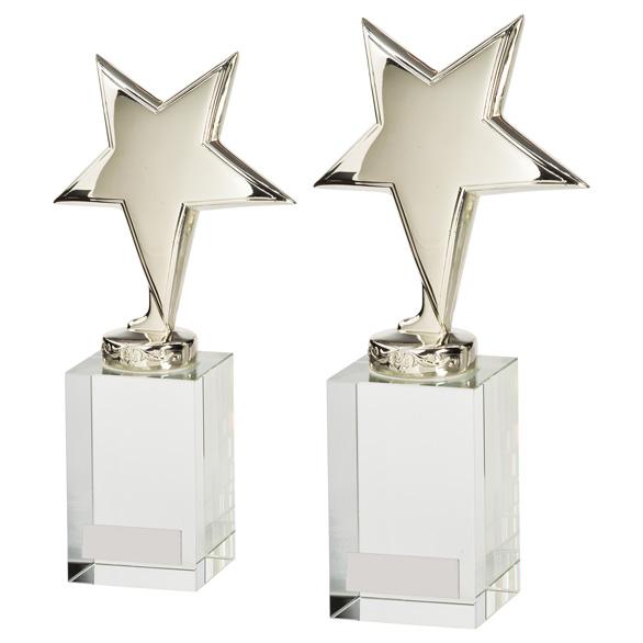 Dallas Crystal and Chrome Award 2 sizes - CR17120