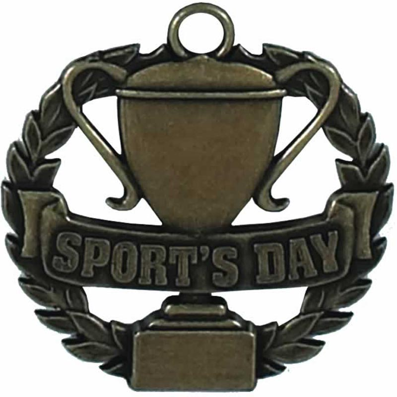 Bronze Spot's Day Medal (size: 50mm) - AM077B